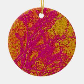 Vintage Acrylic Colormania Energy Plate Christmas Ornaments