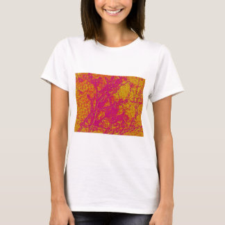 Vintage Acrylic Colormania Energy Plate T-Shirt
