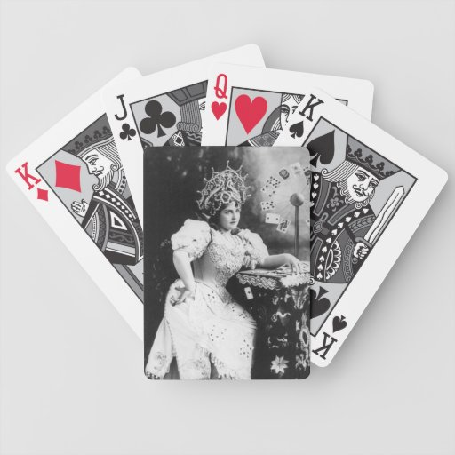 Vintage Actress Playing Cards