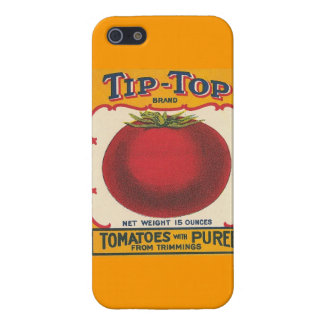 Vintage Ad Art-Canned Tomato Label iphone case