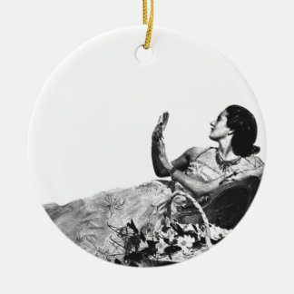 Vintage Ad  Customizable Ornament