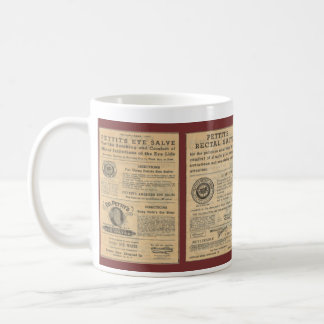 Vintage Ad for Dr Petit's Salve Large Mug