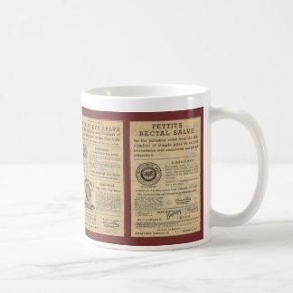 Vintage Ad for Dr Petit's Salve Large Mug