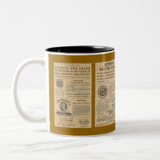 Vintage Ad for Dr Pettit's Salve Mug