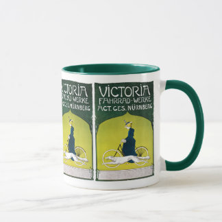 Vintage Ad for Victoria Bicycles Mug