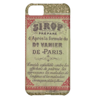 Vintage Ad French De Paris iPhone 5 Cover