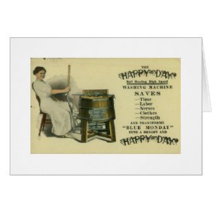 Vintage Washing Machine Ad Gifts On Zazzle