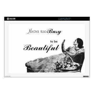 Vintage Ad  Laptop Electronic Device Skin Skins Decal For Laptop