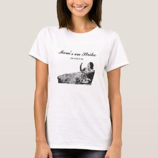 """Vintage Ad """"Mom's on Strike"""" Womens T-Shirt"""