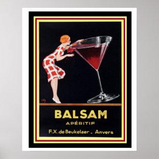 Vintage Ad Poster-Balsam Apertif 16 x 20 Poster
