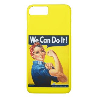 Vintage Ad Rosie Riveter iPhone 7 Plus Case