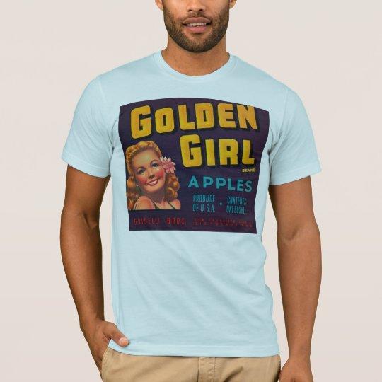 Vintage Add Golden Girl Apples T-Shirt