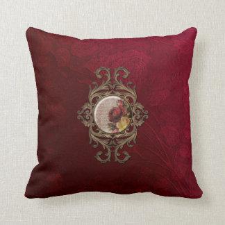 Vintage adornado floral almohadas