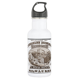 Vintage ads: Breweriana - Obermann Brewing Stainless Steel Water Bottle