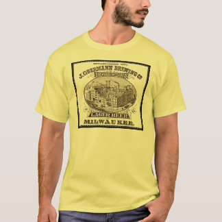 Vintage ads: Breweriana - Obermann Brewing T-Shirt