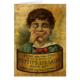 Vintage Advertisement - Eye Salve Card