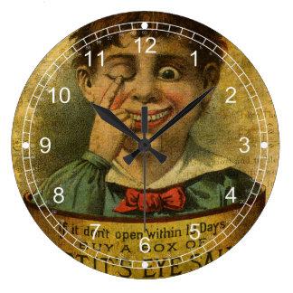 Vintage Advertisement - Eye Salve Wall Clocks
