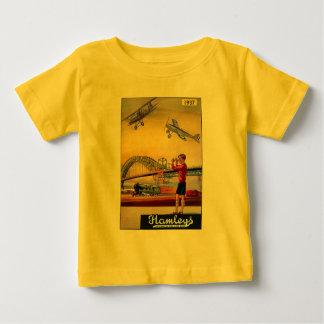 Vintage Advertisement: Hanleys Toy Airplane Baby T-Shirt