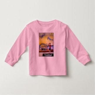 Vintage Advertisement: Hanleys Toy Airplane Toddler T-shirt