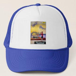 Vintage Advertisement: Hanleys Toy Airplane Trucker Hat