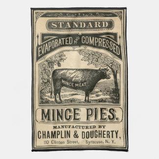 Vintage Advertisement Kitchen Towel