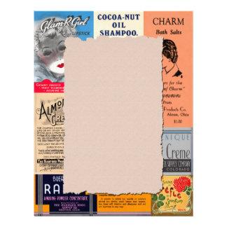 Vintage Advertisement Letterhead Stationery