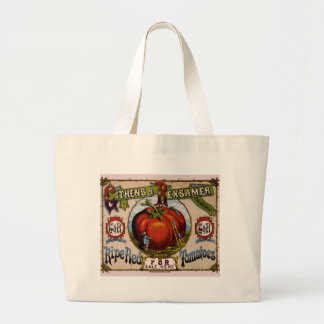 Vintage Advertisement Ripe red tomatoes Tote Bag