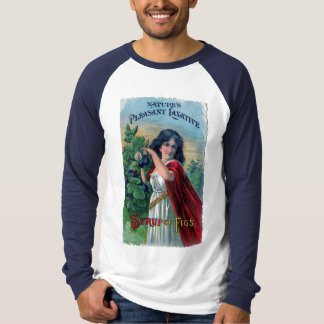 Vintage Advertisement Syrup of Figs Fun T- Shirt