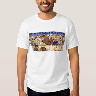 Vintage Advertisement Wick Fancy Hat Bands T Shirt