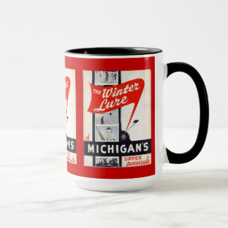 Vintage Advertisement, Winter Lure, Michigans Mug