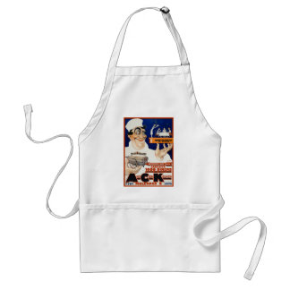 Vintage Advertising Ad: Restaurant & Food Catering Adult Apron