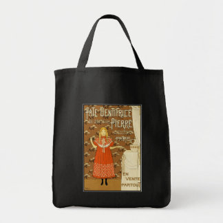 Vintage Advertising Art:  Pate Dentifrice Tote Bag
