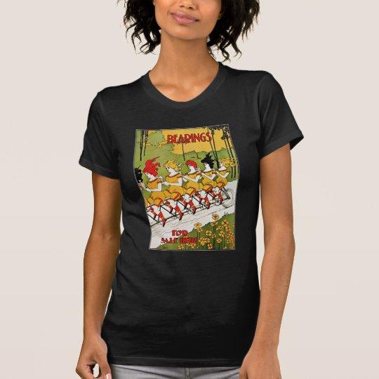 Vintage Advertising - Bicycle Bearings T-Shirt