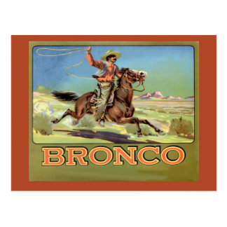 Vintage  Advertising, Bronco Toilet paper Postcard