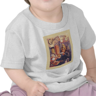Vintage advertising Cadbury s Cocoa Fireman T-shirt