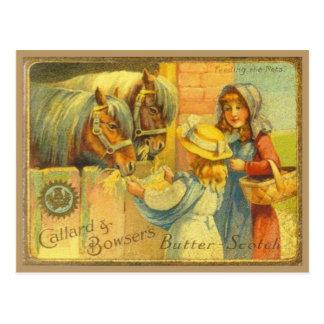 Vintage advertising, Callard and Bowser Butterscot Postcard