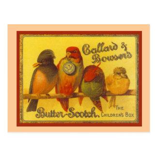 Vintage advertising, Callard and Bowser Postcard