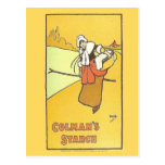 Vintage advertising, Colman's Starch Postcard