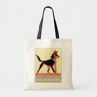 Vintage advertising, Dog Biscuits Canvas Bags