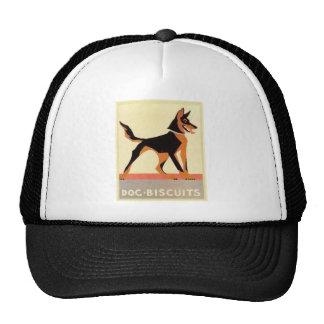 Vintage advertising dog biscuits trucker hat