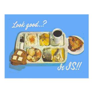 Vintage advertising, Food advert, Look good? It IS Postcard
