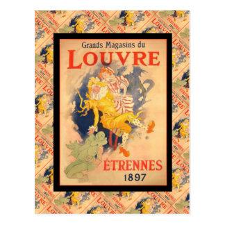 Vintage Advertising, France, Etrennes 1897 Postcard