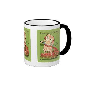 Vintage advertising French Pork joints Coffee Mug