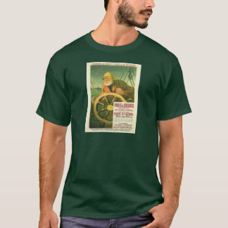 Vintage advertising, French railways excersions T-Shirt