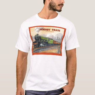 Vintage Advertising, Hornby Train sets T-Shirt