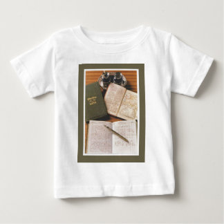 Vintage advertising, Letts Diaries Baby T-Shirt