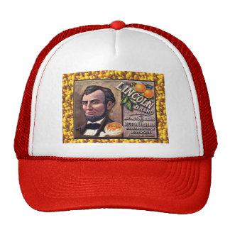 Vintage advertising, Lincoln oranges Trucker Hat