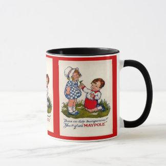 Vintage advertising, Maypole margarine Mug