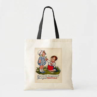 Vintage advertising, Maypole margarine Tote Bag