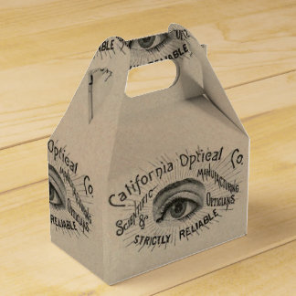 Vintage Advertising Optical Eye Favor Box